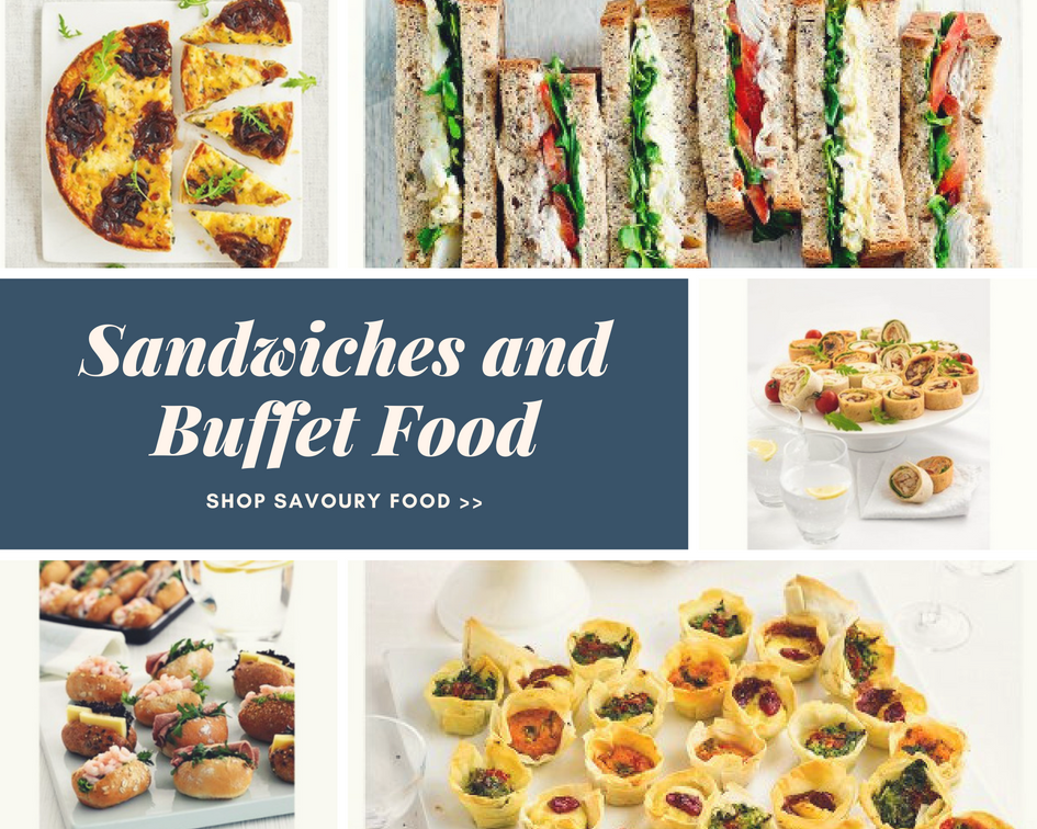 Waitrose Sandwiches and Buffet Food