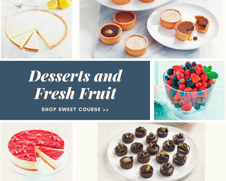 Waitrose Desserts and Fresh Fruit